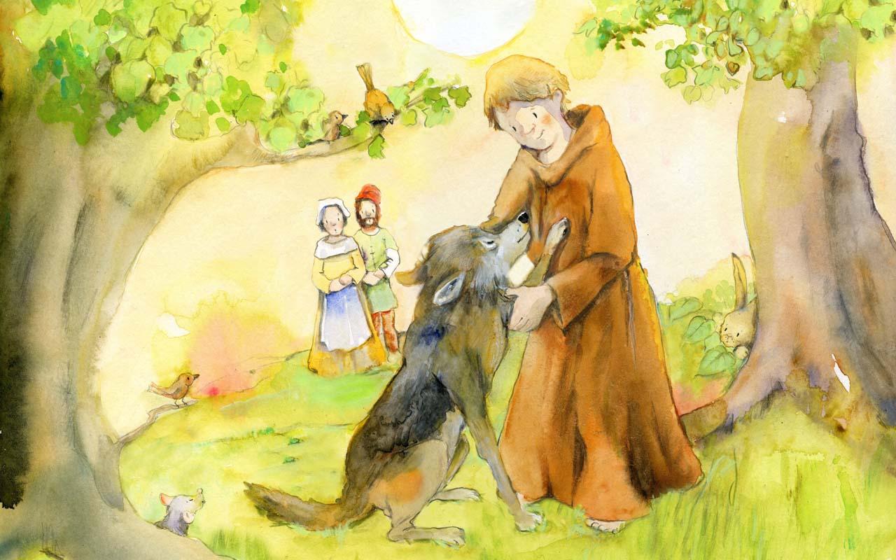 Berühmte Heilige für Kinder: Franziskus, 4. Oktober