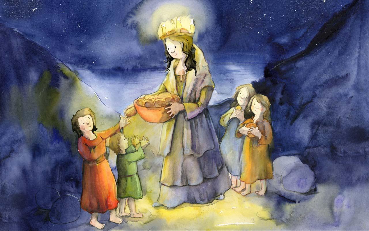 Heilige Lucia Kindergottesdienst