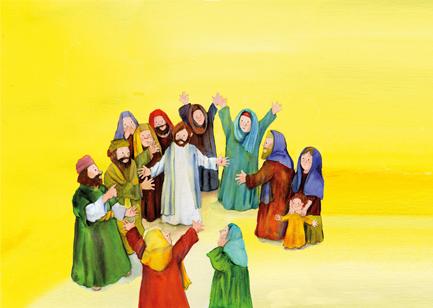 Passionsgeschichte Kinderbibel