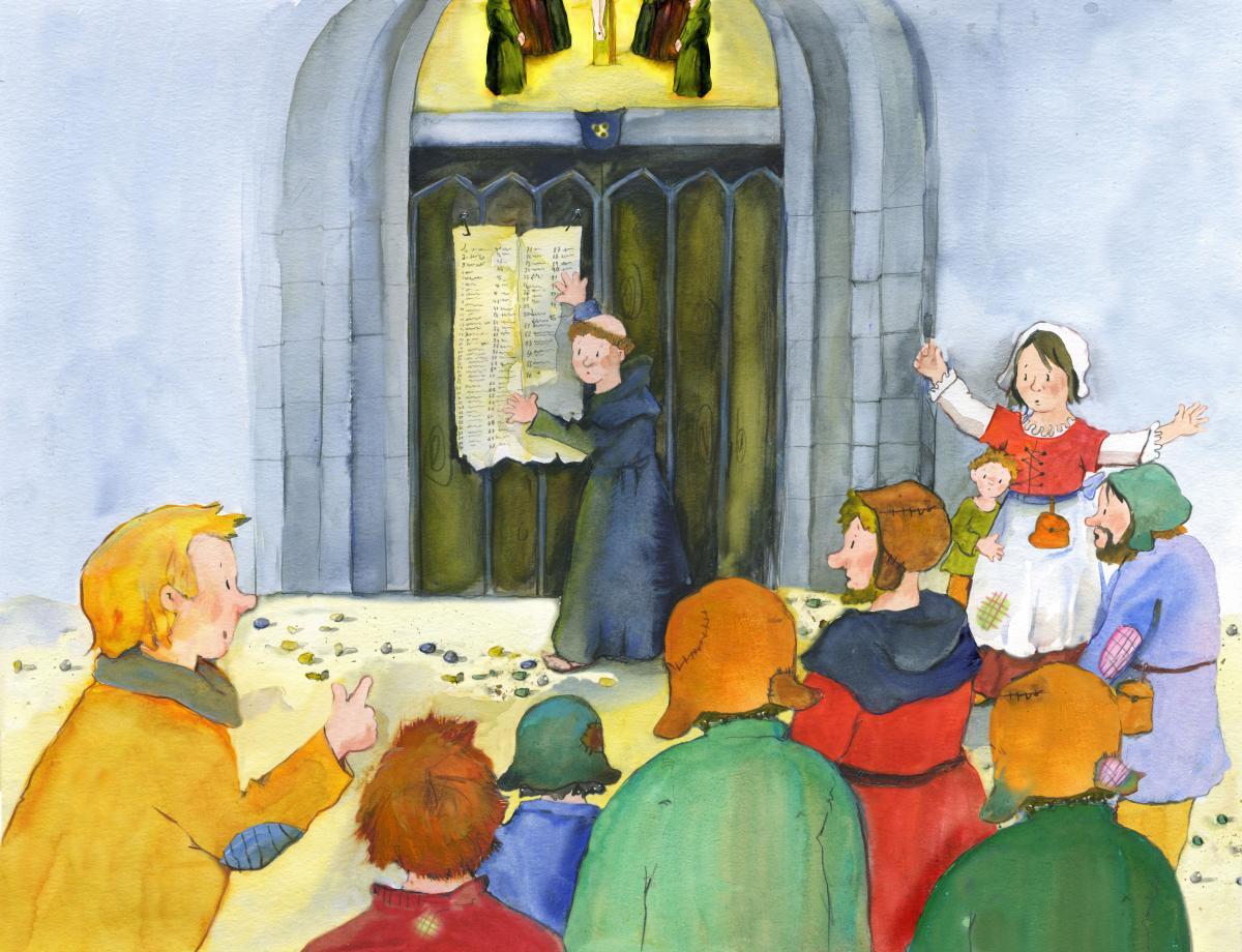 Ein Martin Luther Tag Im Kindergarten