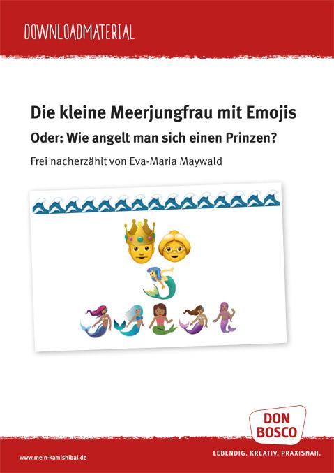 Download Die Kleine Meerjungfrau Mit Emojis Kamishibai