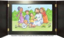Bild: Jesus segnet damals...